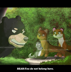 Not so friendly bear by blowber