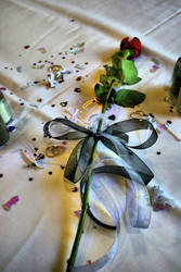 wedding rose by J-Biggie