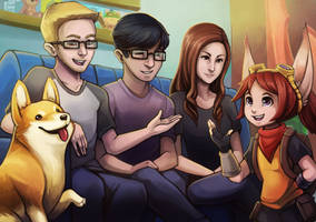 /ALL Chat drawing! by RinTheYordle