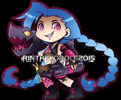 Jinx Chibi by RinTheYordle