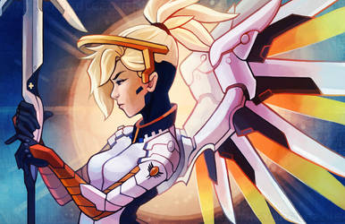 Mercy - Overwatch by RinTheYordle