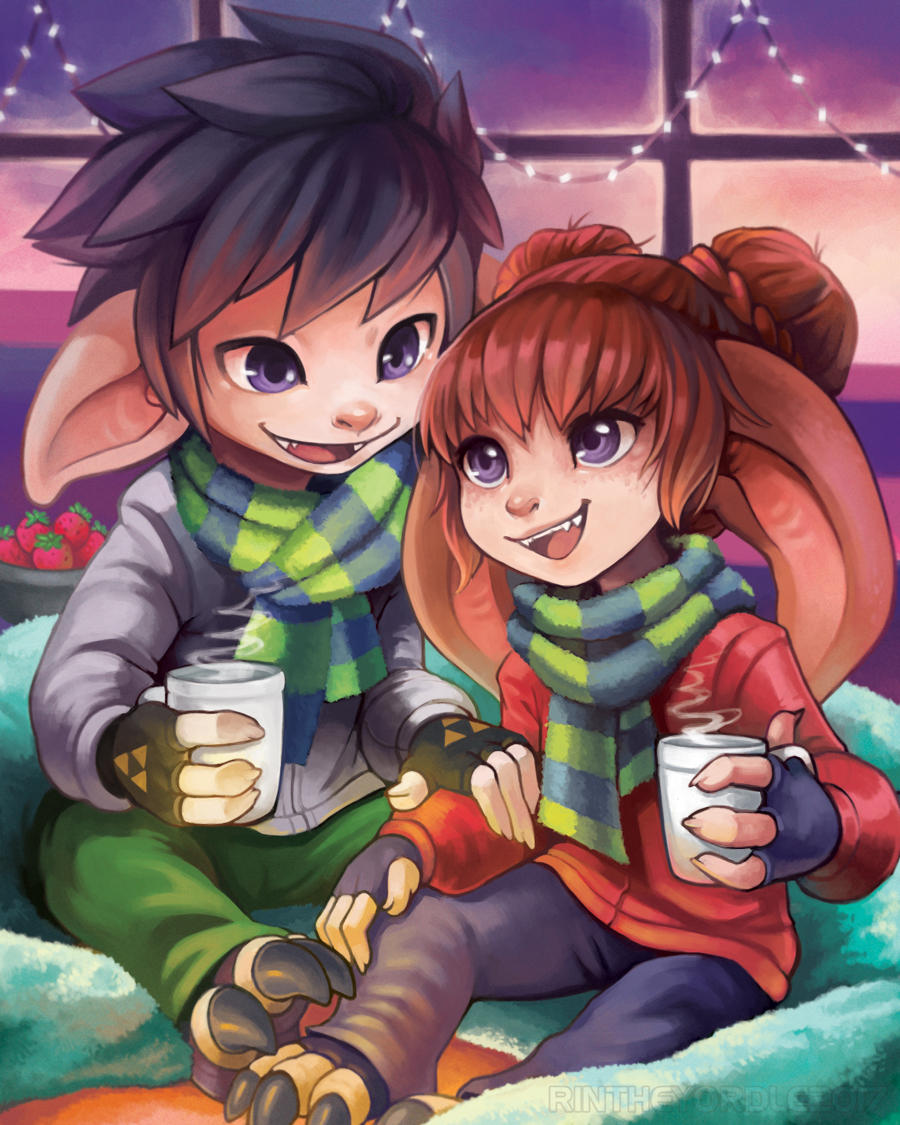 Warm Holidays - Christmas Present :) by RinTheYordle