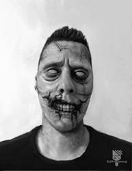 Drawlloween day 2 - zombie by EdArtGaming