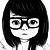 Glasses Girl by xALMAx