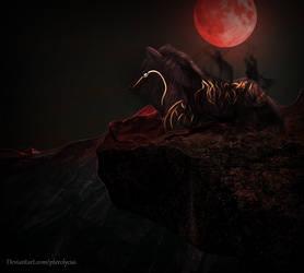 Crimson Night - Sectet Santa 2018 by Pterolycus