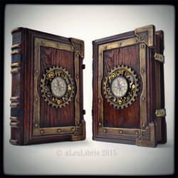 Large Steampunk journal... by alexlibris999
