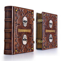 Memento Mori leather journal by alexlibris999