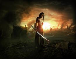 The last warrior by LucasValencio