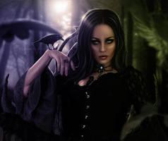 Goddess of Darkness by LucasValencio