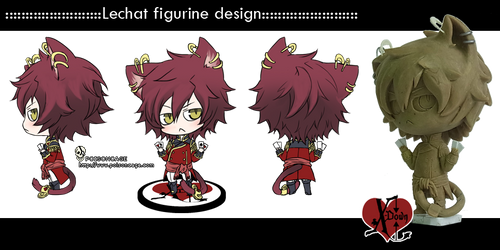 ::lechat figure design:: by rann-poisoncage