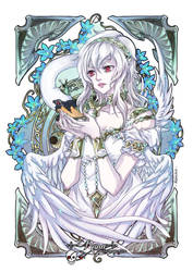 ::White Swan:: by rann-poisoncage