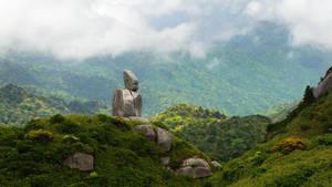 Mountain Buddha by da-phil