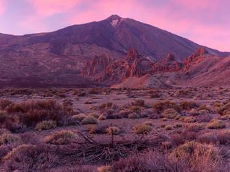Teide on Fire by da-phil
