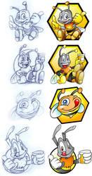 Bee's Honey by Schade88