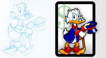 Scrooge Vector by Schade88
