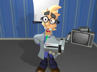 Dr Nestor with NES by Schade88