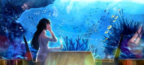 Aquarium Date Anniversary by tanuma-san