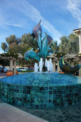 Dolphin Fountain by Freeness2