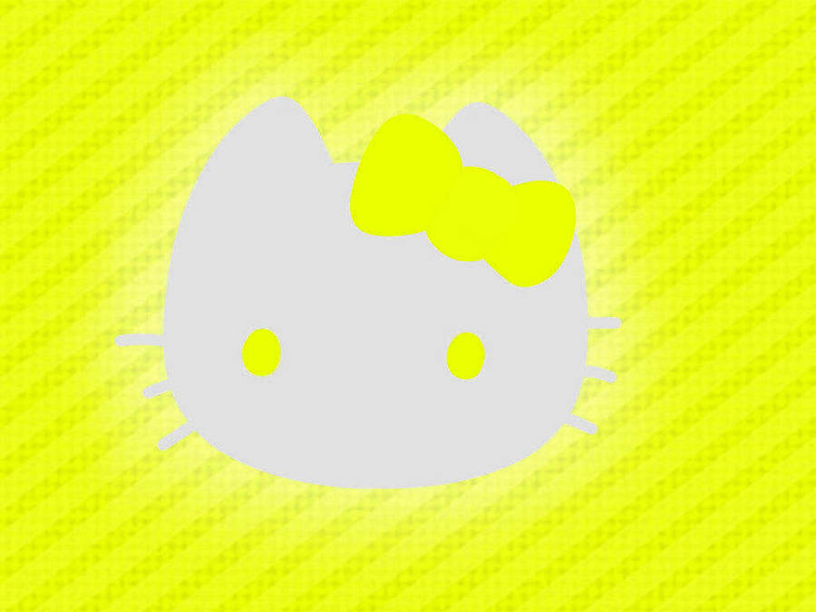 Hello Kitty Wallpaper Yellow By Vectorfrosting On Deviantart