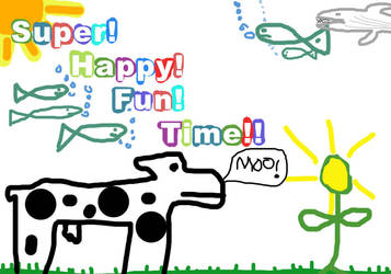 Super Happy Fun Time by unforgiven86
