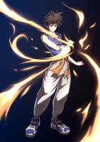 Flame of Recca - Recca Hanabishi by Hananon