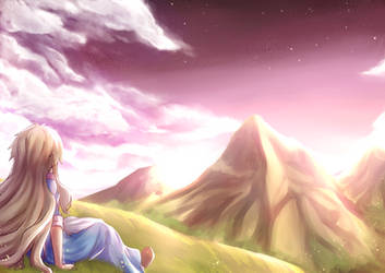 Marry Goes To Mountain...Alone by Hananon