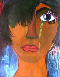 Self-Portrait by roxiesblues