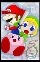 NES heroes poster by SelanPike