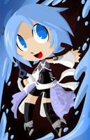 Aqua poster by SelanPike