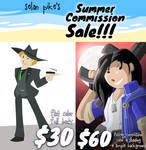 Summer Commissions are open!! by SelanPike