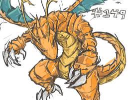 A Fiercer Dragonite by bulletproofturtleman