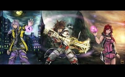Guardians of the Keyblades by bulletproofturtleman