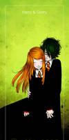 HP . Harry + Ginny by porotto