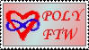 Polyamory Stamp by Indref