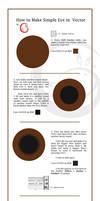 Shiny vector eye . tutorial by Gitchgitch
