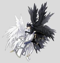 [C] Shun*Hajime by SynZiac