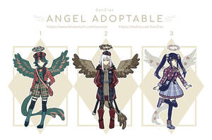 [OPEN] SET PRICE Angel Adoptables by SynZiac