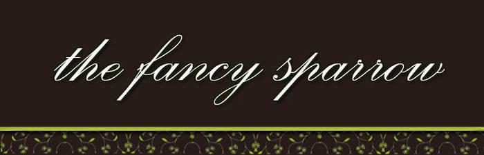 Logo Art : The Fancy Sparrow by thefancysparrow