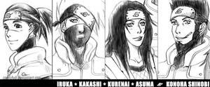 Konoha Shinobi by comichub