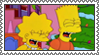 [stamp] Laughing Lisa and Bart Simpson by Infrasonicman