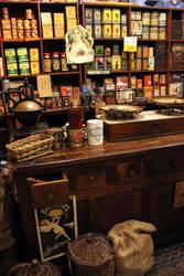 Antique Food Shop by Lissou-photography