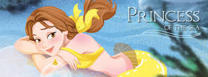 mermaid Belle (mermaid fan artbook) by poperart