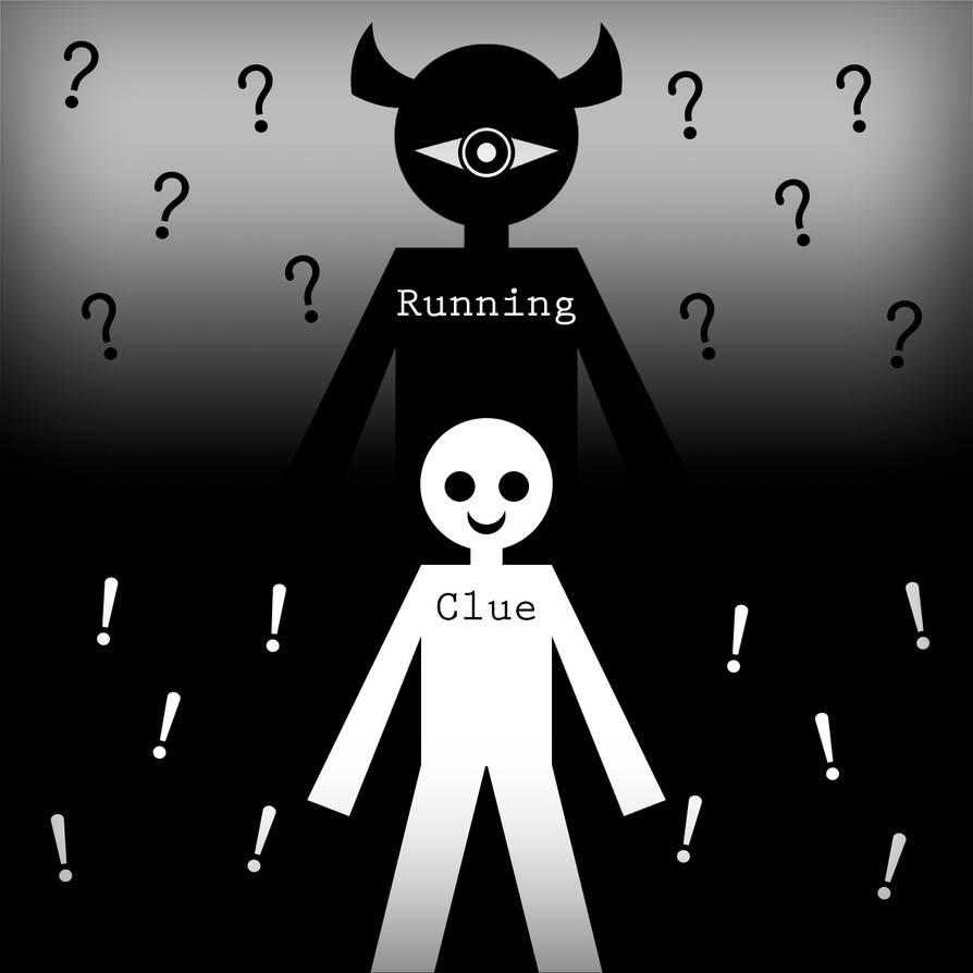 Running Clue - Album Art by ImThatPurpleDude