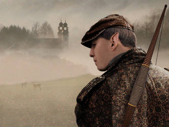 Elven Archer by KDH