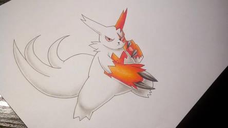 Zangoose/Sengo - Pokemon by Pandaroszeogon