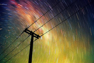 Energy - Film Long Exposure by Cameron-Jung
