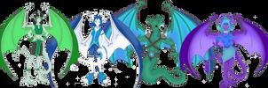Dragons Teeth Clan Group 2 by Crystal-Rosewing
