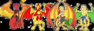 Dragons Teeth Clan Group 3 by Crystal-Rosewing