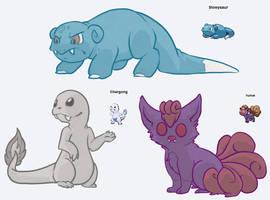 Pokemon Fusion 1 by MaboroshiTira