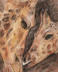 Giraffe by MaboroshiTira